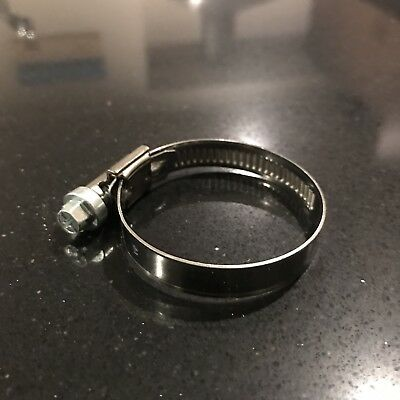"""Gates Performance Hose Clamp 30-45mm, 1"""", 1-1/4"""" Hose, GNP45 9, Stainless Steel"""