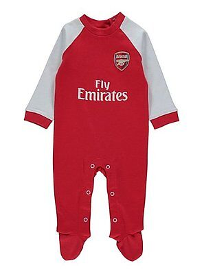 Arsenal FC Sleepsuit Babygrow (0-3 months to 12-18 months)