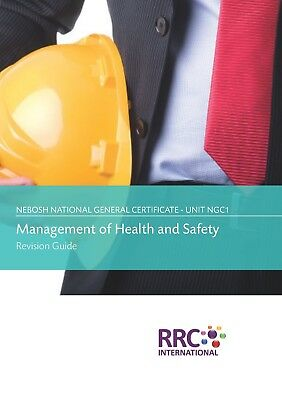 NEBOSH National General Certificate, NGC1, GC2, GC3 - Revision Guide set