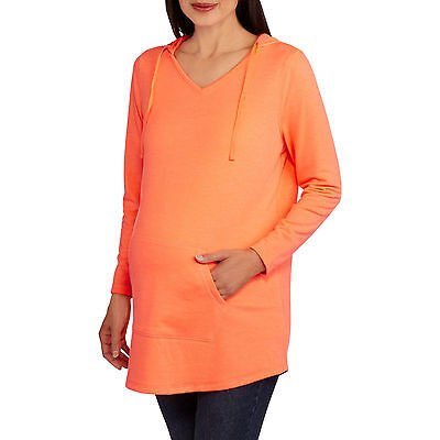 Danskin Now Maternity Long Sleeve Pullover Hoodie
