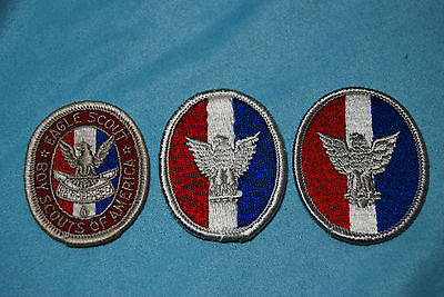 Eagle Scout Patches Type 3 and type 4 A and 4B