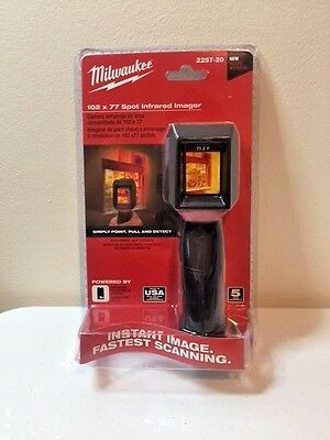 Milwaukee 102x77 Spot Infrared Imager 2257-20 New Item 2017