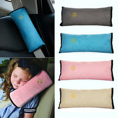 Child Kids Safety Car Seat Belt Pad Strap Harness Shoulder Sleep Pillow Cushion