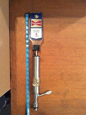Vintage Budweiser Tap-Rite Pump Beer Handle - Very Hard to Find