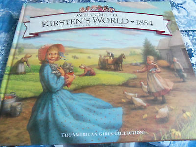 Oversized Hardcover Book, Welcome To Kirsten's World-1854, Gc-Dated 1999, 2 Lbs.