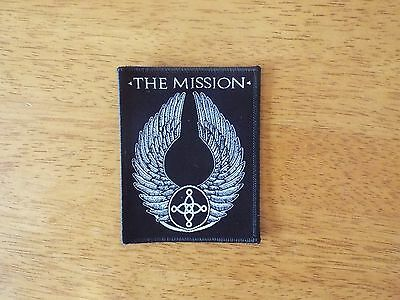 The Mission Black Version woven patch aufnäher limited edition