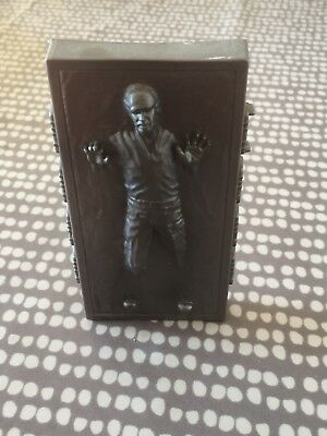 Vintage Star Wars Han Solo in carbonate Action Figure