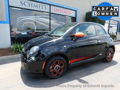 2015 Fiat 500 500e 2Dr Hatchback BATTERY ELECTRIC 2015 Fiat 500e Fully Electric Vehicle, 1 Owner, Sunroof, Sport Pkg