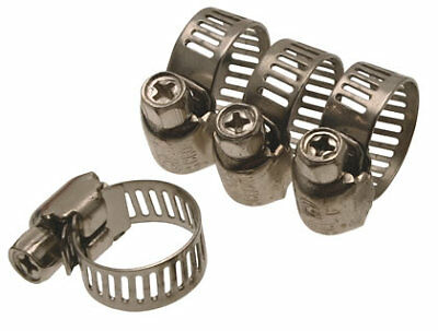 "9224 -  Pressure Regulator Hose Clamps 1/4"" + 5/16"" (Pack of 4) Beetle 1946–1979"