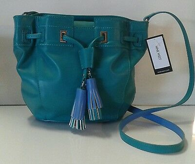 Nine West Crossbody Purse Handbag BONUS FREE POM POM KEY CHAIN W/PURCHASE!