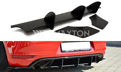 VW Golf MK6 6 VI GTI GTD / 35TH Rear Valance Diffuser Spoiler Lip Side Splitters