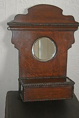 Edwardian Candle Box With Hall Vanity Unit