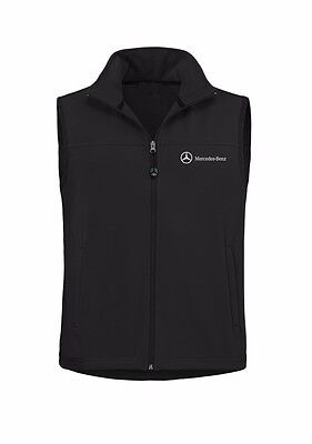 Oem Genuine Mercedes Benz Men's Water Resistant Soft Shell Vest
