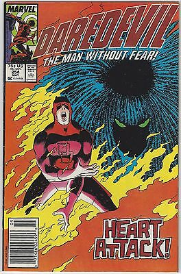 DAREDEVIL #254 KEY 1st Appearance TYPHOID MARY Kingpin John Romita Jr VF+ (8.5)