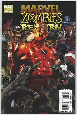 MARVEL ZOMBIES RETURN #1 Arthur Suydam Cover Variant NM (9.4)