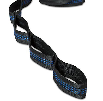 Signstek 2X 9ft Professional Hammock Tree Strap Belt with S Hook Support up to 4