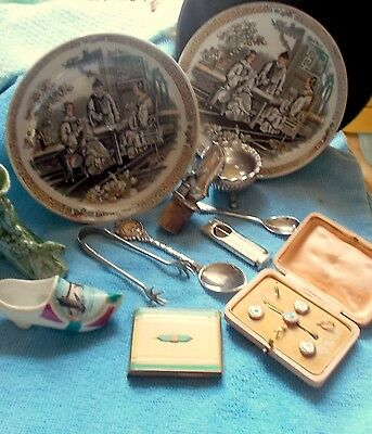 Small Lot Of Antique Odds And Ends