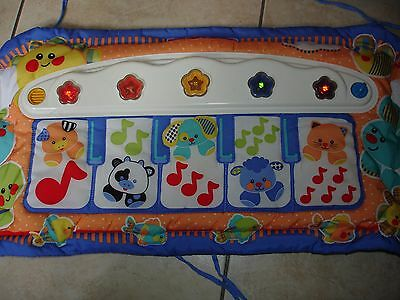 piano lit fisher price bleu tbe lumineux musical