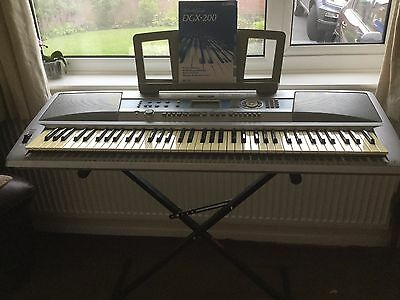 Kurzweil pc88 stage piano keyboard synth with case 185 for Yamaha dgx 200 portable grand keyboard