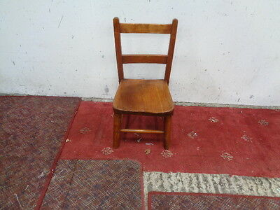 vintage wooden chair childs chair small old wooden chair