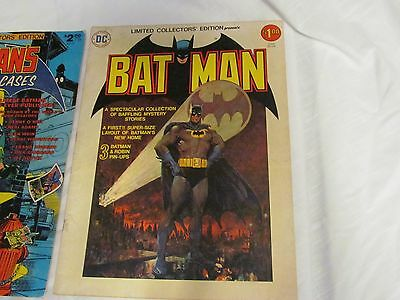 Dc Collectors Edition Batman (C-44)   Layout Of Batman's New Home! 3 Pinups 1976
