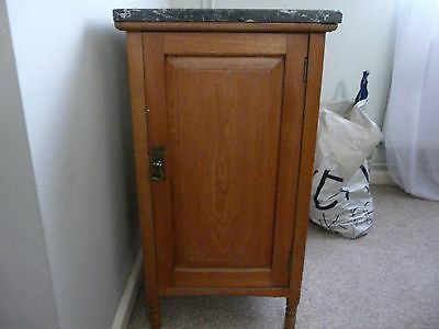 marble topped cupboard