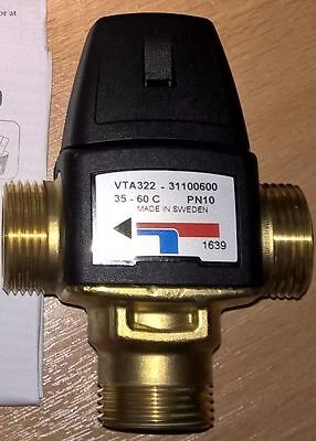 Vanne thermostatique ESBE VTA322 35-60 3/4""