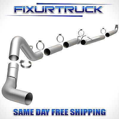 "5"" Magnaflow Exhaust Down Pipe Back For 01-10 GMC/Chevy Duramax 6.6L"