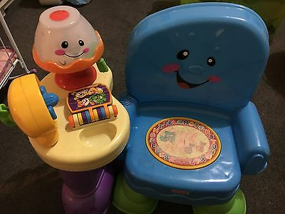 Fisher Price Laugh & Learn Song & Story Leaning Chair
