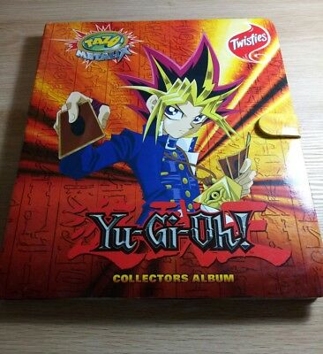 YuGiOh Full Set Metallic Tazo's including double ups and rare gold silver