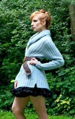 MOHAIR TURTLENECK & Skirt
