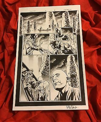 Iron Fist #3 Page #8~Original Published Art~Drawn/signed By Mike Perkins~Netflix