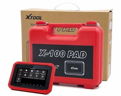XTOOL X100 PAD Tablet Programmer OBD2 Diagnostic Code Scanner Key Transponder