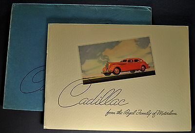 1936 Cadillac Series 60 Prestige Catalog Brochure + Envelope Excellent Original