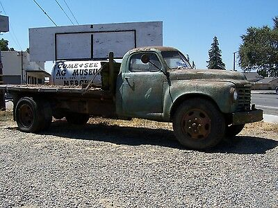 1951 Studebaker  1951 Studebaker Flat Bed With Dump Bed and PTO