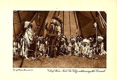 Vintage Wanamaker Indian Photogravure #2