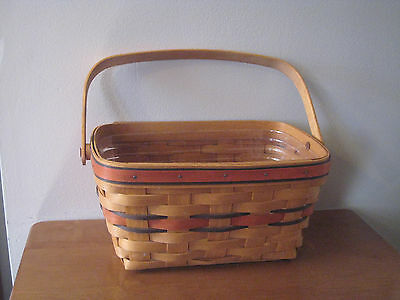 Longaberger 1994 Boo Basket - With Plastic Liner