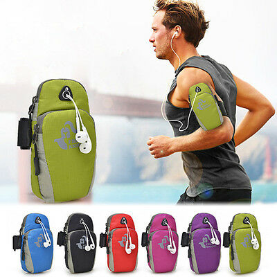 Universal Running Sports Arm Pouch Mobile Phone Arm Band Bag Case