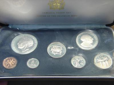 1973 Jamaica 7 Coin Proof Set with Certificate of Authenticity