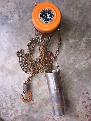 Wesco Chain Hoist 1/2 Ton 500lbs 272163 With Hook