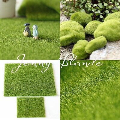 Greenscapes Grass Pompom Rug Home ollhouse Moss Garden Lawn Patio Decorations