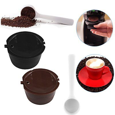 1/3/5PCS Refillable Reusable Coffee Capsule Cup Filters For Nescafe Dolce Gusto