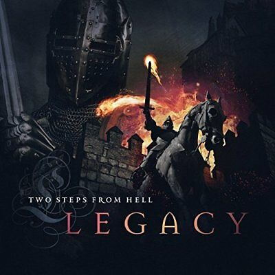 Legacy CD Two Steps From Hell New Japanese