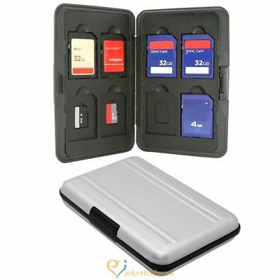 Micro SD SDXC Storage Holder Memory Card Case Protector Aluminum Material USA