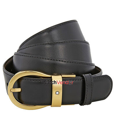 Montblanc Classic Reversible Leather Belt 38579