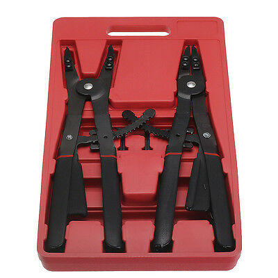 16 inch Large Circlip Snap Ring Pliers Retaining Tools + Replacement Tips Case