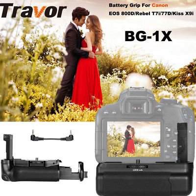 Professional Battery Grip BG-1X  For Canon EOS 800D/Rebel T7i/77D/Kiss X9i New