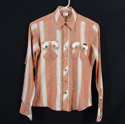 Vintage Mais Oui Western Button Up Shirt Country, Prairie, Rodeo, Cowboy