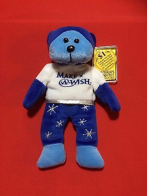 "Skansen Beanie Kids "" BELIVE the MAKE A WISH Bear """