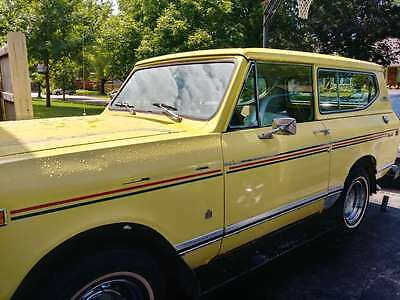 1976 International Harvester Scout Original International Scout II XLC 4x4 V 304 Automatic